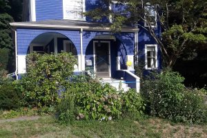 Exterior House Painting Blue